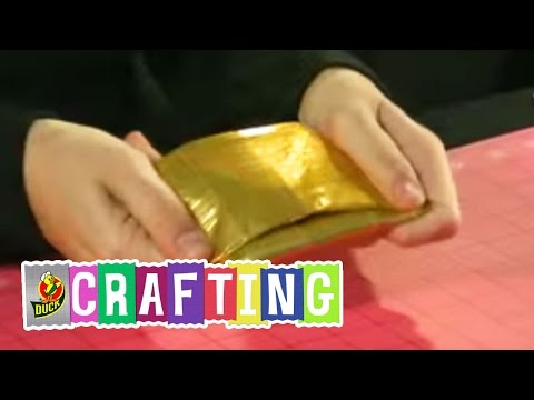 How to Craft a Duct Tape Tri Fold Wallet