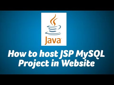 How to create a JAVA Website