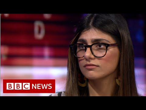 Xxx Mp4 Mia Khalifa Why I'm Speaking Out About The Porn Industry BBC News 3gp Sex