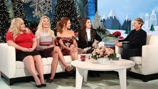 pitch Perfect 3 Cast Talk Sequels With Ellen
