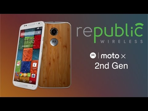 Moto X 2nd gen for Republic Wireless is here!