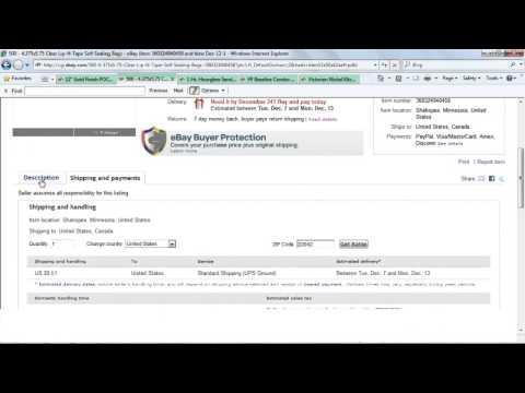 How to Process Ebay Return
