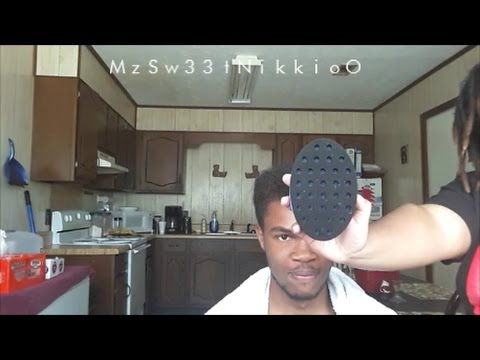 How to start freeform dreads/locs using a sponge!!