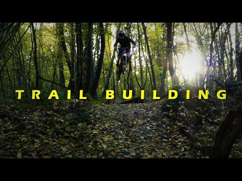 Constrution d'un Double + Premier Ride | Trail Building