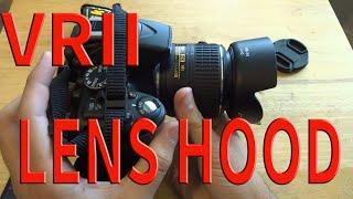 Nikon 18-55mm VR II Lens Hood HB-69 | Generic eBay $6