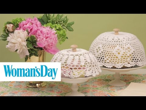 DIY Cake Dome | Woman's Day