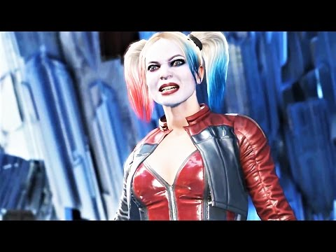 Injustice 2: All SUPERMAN Vs Harley Quinn Intro Dialogues
