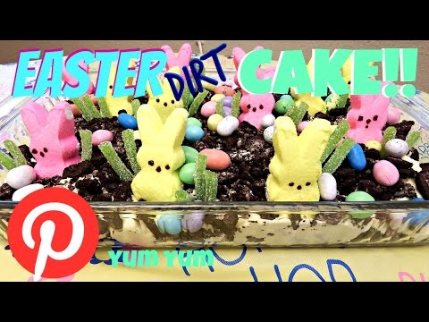 How to make EASTER DIRT CAKE!!!