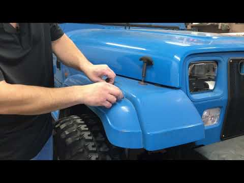 How To Remove Jeep YJ Side Marker Light