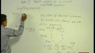 "Rajasthan ICT Satellite Education Science 10th ""Genetics"" 31July  2018 19 Lecture-5"