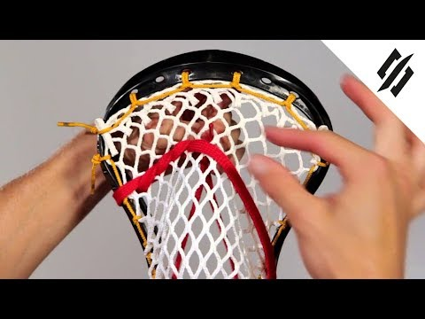 How to String a Lacrosse Head | Shooting String | Step 11 | StringKing