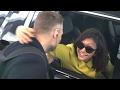 Nina Dobrev Gives Her Bodyguard An Intimate Goodbye