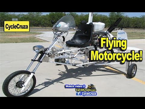 Flying Motorcycle | MotoVlog