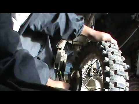 How to replace a dirt bike drum brakes