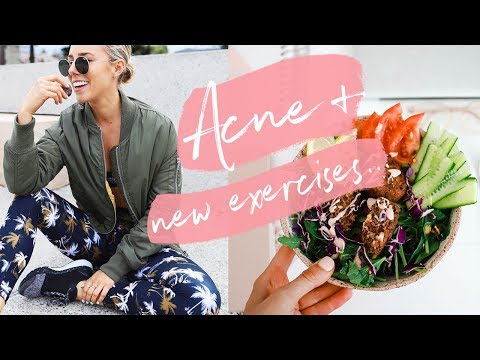 MY ACNE CAME BACK!? New Gym Routine + Healthy Meals | Day In The Life!