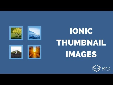 How to Create a Thumbnail Image with Ionic