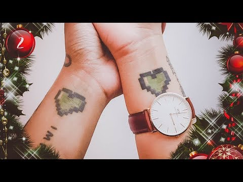 Our Matching Tattoos | Vlogmas