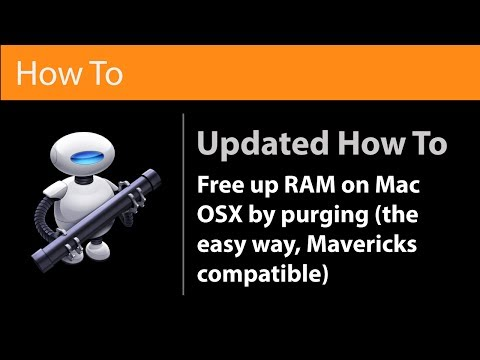 Free Up Your RAM In OS X Mavericks or Above