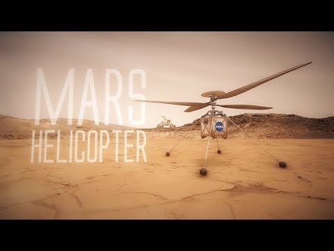 New Helicopter Drone Will Soon Fly the Martian Skies