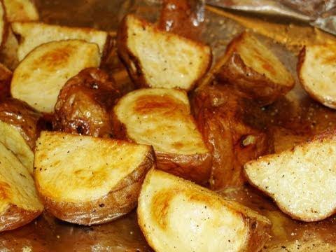 Back to Basics:  Simple roasted potatoes