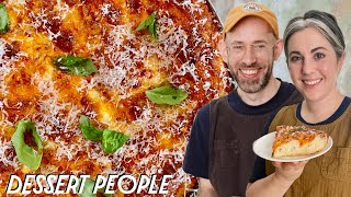 How To Make Cast Iron Pizza   Dessert People