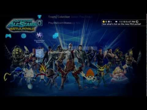 Preview: PlayStation All-Stars: Battle Royale PS3 Pre-Order Theme