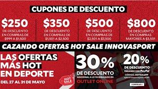 CAZANDO OFERTAS 🔥 HOT SALE 2019 EN INNOVASPORT 🔥