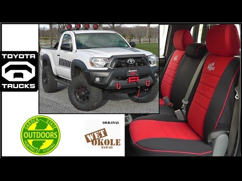 Stupendous Wet Okole Seat Covers Install Overview 09 Toyota Tacoma Dailytribune Chair Design For Home Dailytribuneorg