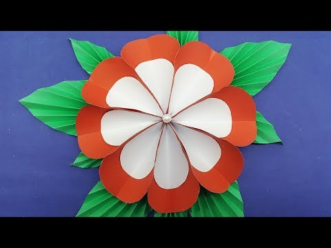 Origami Paper Flower Easy with colors paper - DIY Paper Flowers Making at Home