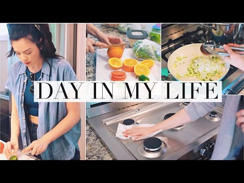 Day In My Life! Cooking & Cleaning!