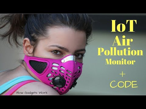 Arduino IoT Air Pollution Monitor  with Code (DIY)