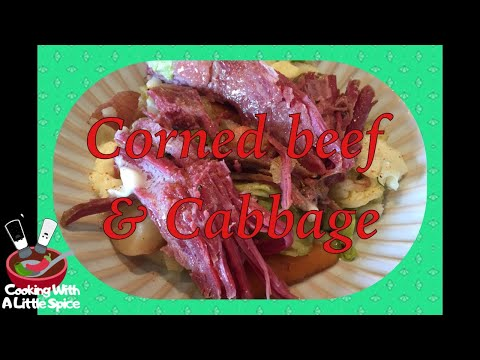 Best Corned Beef and Cabbage Recipe - Slow Cooker / Crockpot recipe