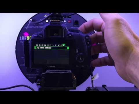 HootBooth EventPro camera settings