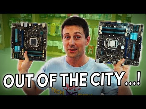 OUT of the CITY Used PC Parts HUNT in TAIWAN...!