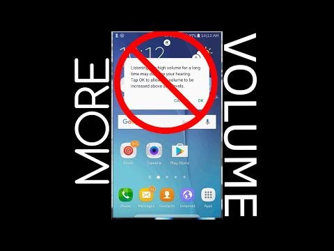 How to Disable the Android Volume Limiter: Macro Android app