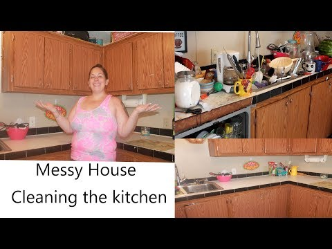 EXTREMELY MESSY KITCHEN CLEAN UP | 3 DAY PROCESS