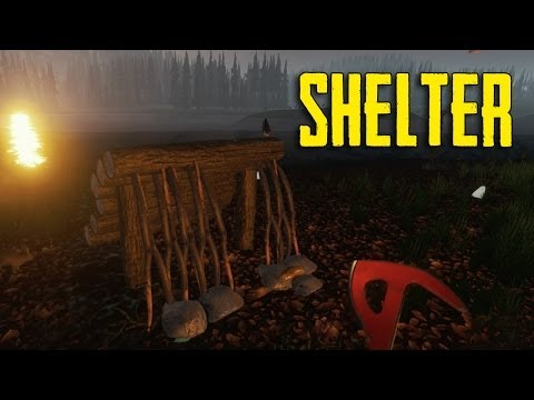 The Forest- How To Make Shelter (Temporary & Hunting Shelter)