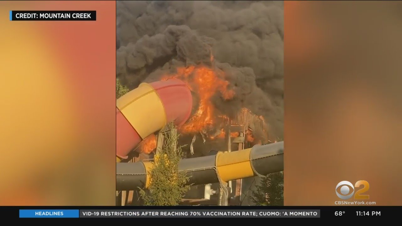 Attraction At Popular New Jersey Water Park Catches Fire