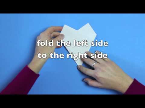 How To Make A Six-Pointed Paper Snowflake