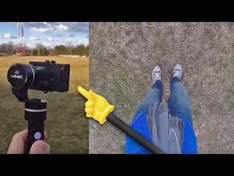 DJI Osmo (like) GoPro Gimbal - FeiyuTech G4 | Quick FX