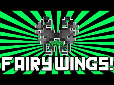 Terraria 1.2.1: Tattered Fairy Wings (BEST WINGS | Crafting Guide) [demize]