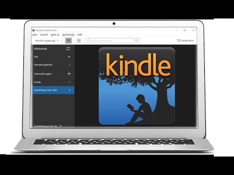 Amazon Kindle App - E-Book auf dem Computer lesen - Deutsch