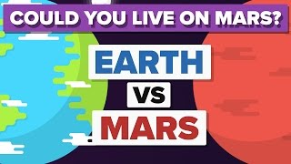 Earth vs Mars - How Do They Compare - Space / Planet Comparison 🌎