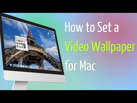 Set Live Wallpapers & Animated Desktop Backgrounds in MAC OS - VLC VERSION