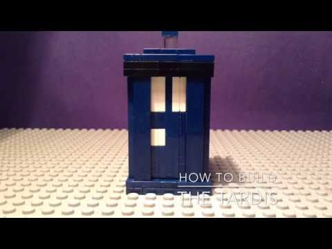 Lego Doctor who how to build 1:The TARDIS