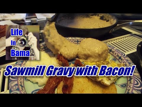 How To Make Sawmill Gravy with Bacon