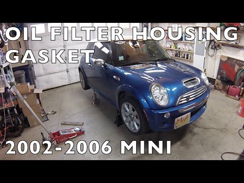 R50/R53 MINI Cooper Oil Filter Housing Gasket Replacement