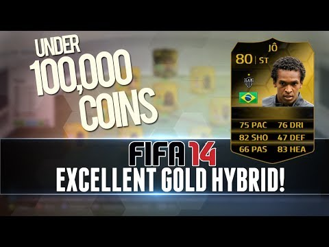 FIFA 14 | PERFECT GOLD HYBRID w/ INFORM + 5 STAR SKILLERS for UNDER 100k! | Squad/Team Builder #13