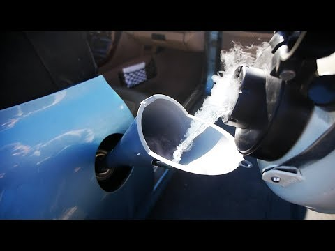 What Happens If You Fill Up a Car with Liquid Nitrogen?