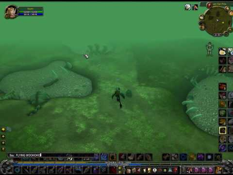 Wow Flying ground mount in azeroth! REAL!